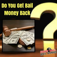 The question is, do you get bail money back once the case is over? Yes, but this isn't the case all the time; it can be different for some cases and cities. Bail Money, Bond, Cities, This Or That Questions, Business, Store, Business Illustration, City