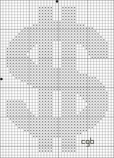 Free Dollar Sign Charted Stitch Pattern