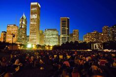 Calendars for Every Outdoor Movie, Concert, and Festival in Chicago, Updated