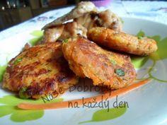 Recept Mrkvové karbanátky - Naše Dobroty na každý den Tandoori Chicken, Ethnic Recipes, Food, Essen, Meals, Yemek, Eten