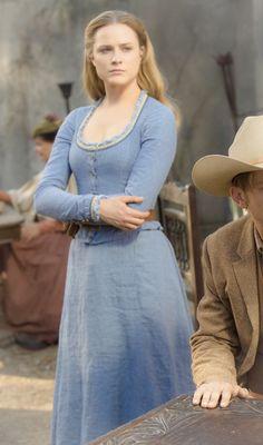 Westworld: Dolores Abernathy. Algunos eligen ver la fealdad de este mundo. Yo elijo ver la belleza
