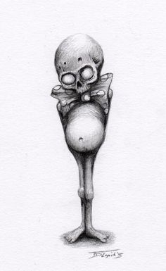 Fun with #zombies … #pencildrawing  #art