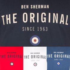 "#BenSherman ""Heritage Tee Collection"" #camiseta #tshirt #tee #benshermantshirt #benshermantee #benshermanoriginal #original #britishstyle #london #madrid http://www.rivendelmadrid.es/marcas/ben-sherman.html?tipo_prenda_hombre=381"