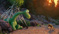 This marks the first year that Pixar will release two films, but while we've seen a lot of 'Inside Out' (in theaters June we've hardly gotten a glimpse at 'The Good Dinosaur,' coming this fall. Well, finally, Pixar has released a teaser trailer (to The Good Dinosaur, Dinosaur Movie, Dinosaur Images, Dinosaur Photo, Film Pixar, New Pixar Movies, Disney Movies, Walt Disney, Disney Wiki