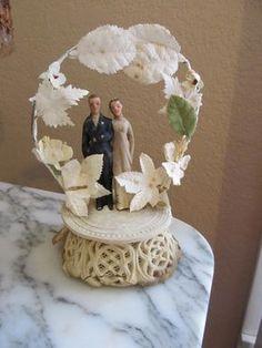 Wedding Cake Topper, 1930s-1940s