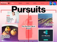 Haters to the Side: Bloomberg's Loud Redesign Heralds the Future of Web News | WIRED