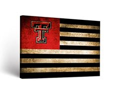 Product Description - A perfect way to show your team spirit! Our canvases are made of a durable, high quality canvas featuring digitally printed graphics in HD. State Canvas, Vintage Flag, Texas Tech Red Raiders, Missouri Tigers, South Carolina Gamecocks, Flag Design, Vintage Designs, Canvas Wall Art, Poster Prints