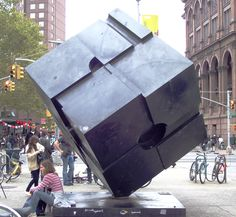 Have you've felt an absence in your life since the Astor Place Cube got shuttled off for renovations a year an a half ago? Well, good news, finally thatin