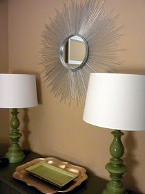 Sunburst Mirrors are popping up everywhere and there are lots of easy DIY versions! I have been wanting to make one for a while so I startin...