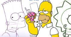 Disegnare i Simpson è facile quanto mangiare una ciambella - basta seguire i consigli dei professionisti. Guarda la guida di Matt Groening e dei suoi colleghi!