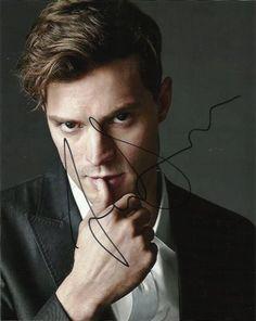 Jamie Dornan 50 Shades of Grey Autographed Signed 8x10 Photo COA