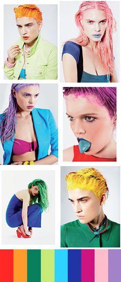 Colour #colourful #fashion #style