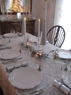 Dining room Christmas Eve 2011