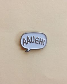 """Epic Whatever """"AAUGH!"""" enamel pin #EpicWhatever #CharlieBrown #Pin"""