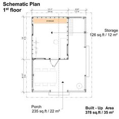 Garden Storage Shed Plans - Pin-Up Houses Building Costs, Building A Tiny House, Shed Building Plans, Building Design, Shed Floor Plans, Free Shed Plans, Garden Storage Shed, Storage Shed Plans, Blueprint Construction