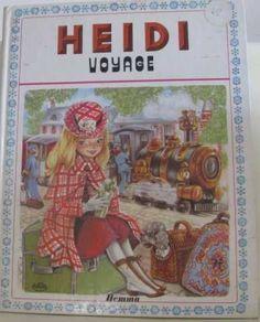Heidi voyage / Maury Marie-josé , Spyri Johanna in Livres, BD, revues, Autres…