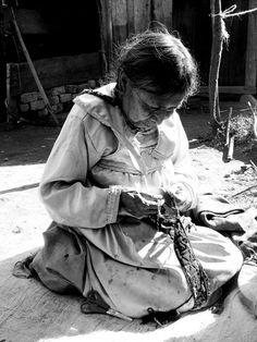 Tejedora - indigena