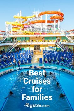Here are our picks for the best family-friendly cruises that won't leave you out to dry when you hit the high seas. Cruise Travel, Cruise Vacation, Vacation Trips, Cruise Tips, Family Vacations, Vacation Ideas, Family Friendly Cruises, Best Cruise Lines, Cruise Specials