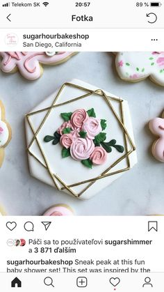 Fancy Cookies, Iced Cookies, Cute Cookies, Royal Icing Cookies, Cupcake Cookies, Cupcakes, Wedding Shower Cookies, Anniversary Cookies, Cookie Designs