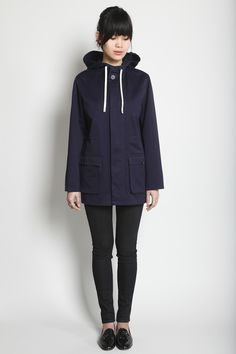 whiskeysoaked:  A.P.C.  black and navy is one of my favorite...