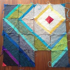 Fly Away blanket progress — Tanis Fiber Arts