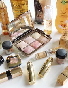 Makeupper | 10 Must-Have Gold Products | Hourglass Ambient Lighting Edit, Kerastase, Garnier, Matrix, Redken, MAC, Gerard Cosmetics, YSL, Bobbi Brown, Linden Leaves, L'Oreal, NYX http://www.makeupper.co.nz