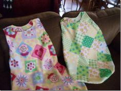 How to Sew a Fleece Sleep Sack with Pattern - no zipper