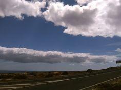 Canary Islands Photography: #nubes #clouds  Mirandoalcielo #PuertodelRosario #...