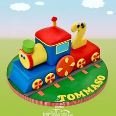 Train Birthday Party Cake, Thomas Birthday Cakes, Paw Patrol Birthday Cake, Cars Birthday Parties, Cake Designs For Kids, Pony Cake, Cake Gallery, Boy First Birthday, Cute Cakes