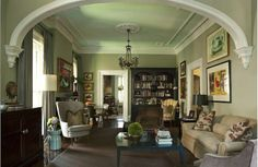Color scheme Carolyn Hultman Interior Design Savannah GA Living