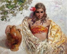 Figurative Paintings by Jose Royo | Cuded
