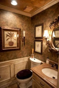 41 Half Bathroom Ideas For Beautiful Bathroom Design Tuscan Bathroom Decor, Bathroom Interior Design, Modern Bathroom, Master Bathroom, Bad Inspiration, Bathroom Inspiration, Bathroom Ideas, Shower Ideas, Dream Bathrooms