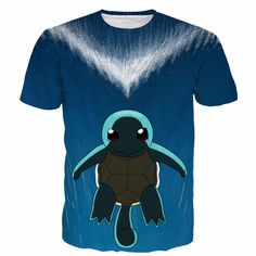 4335e205ae883 Click to Buy    Newest Style Pokemon Prints tshirts Cute Squirtle 3D t.