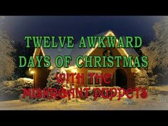 12 Awkward Days of Xmas -- Miskreant Puppets    Yuletide greetings from the Jim Henson Company aren't always aimed at children, because adults love them some Xmas time too.    Here's a holiday puppet video made especially for grown folks, courtesy of the Miskreant Puppets and the Nerdist channel.    Hide yo mom, hide yo kids, this video has six monkeys smoking and a weasel in a bikini!    (may be considered NSFW by more conservative audiences)  --via Topless Robot