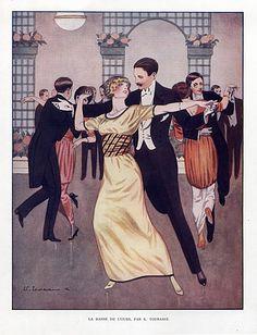 Edouard Touraine 1912 Dance de l'Ours, Dancer