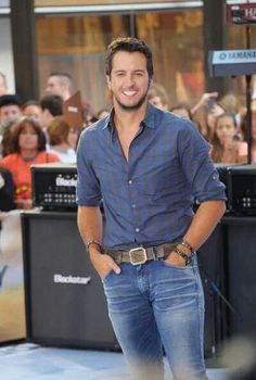 Luke Bryan is so hot can't wait to see him in concert this month!!