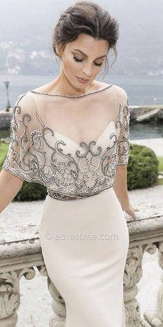 Ica Evening Dress by Tarik Ediz