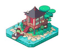 Daruma Shrine (Jul 2015) by emimonserrate on DeviantArt