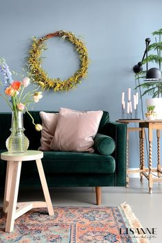 Retro party: 65 decorating ideas for every year - Home Fashion Trend Living Room Inspiration, Interior Inspiration, Decorating Your Home, Diy Home Decor, Interior Exterior, Interior Design, Small Space Living, Eclectic Decor, Home Fashion