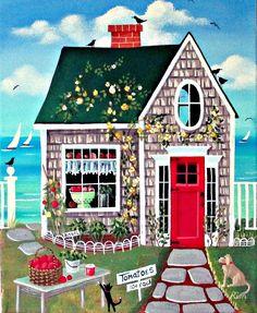 """Fresh Tomatoes Cottage"" - Kim Leo"