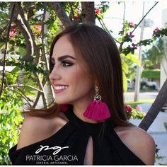 💕PG💕Life is short. Buy Earrings, Fringe Earrings, Beaded Earrings, Fashion Earrings, Earrings Handmade, Pageant Tips, Tassel Earing, New Years Dress, Jewellery Display