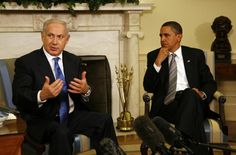 Image detail for -... Netanyahu and President Obama at the White House. Photo: White House..Looks like he is hatin' on Net