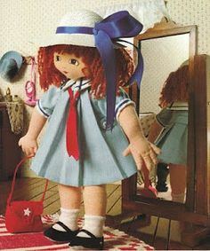 Mimin Dolls: Doll Girl with hat (page 1 of 2)