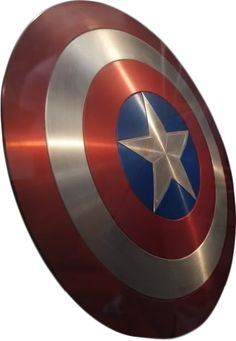 Captain America's vibranium shield.