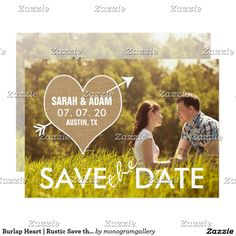 rural pasture fence rustic save the date postcards | Save the Date ...