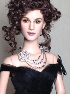Keira Knightly as Anna Karenina by Shannon Craven #repaint #tonner