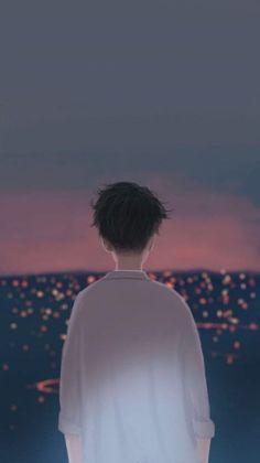 Boy In City Anime Iphone Wallpaper Free – GetintoPik Cute Couple Wallpaper, Boys Wallpaper, Cartoon Wallpaper, Cute Couple Art, Anime Love Couple, Cute Anime Couples, Boy Art, Art Girl, Anime Scenery