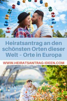 Das sind die schönsten Orte für einen romantischen Heiratsantrag in Europa. Baseball Cards, Europe, Places