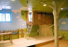 Cute idea for a play room
