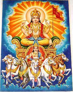 Surya The Sun-god